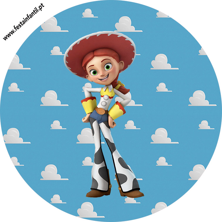 Topper para cupcake Toy Story